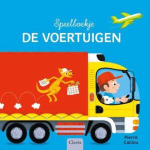 Speelboekje Voertuigen - 9789044837551