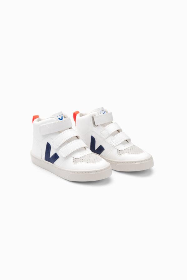 Wijs west Veja Veja White Cobalt Orange Fluo 3611820056299 AW21Veja Kleding & Accessoires Schoenen