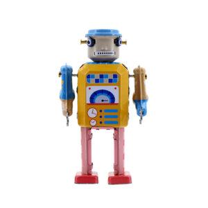 Mr & Mrs Tin Robot Electro Bot