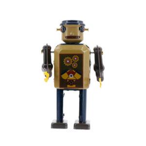 Mr & Mrs Tin Robot Gear Bot