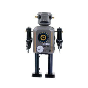 Mr & Mrs Tin Robot Time Bot