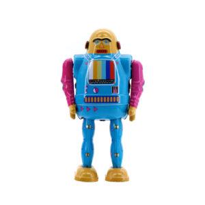 Mr & Mrs Tin Robot TV Bot