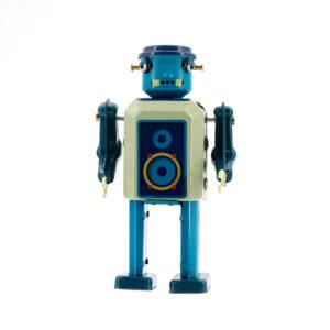 Mr & Mrs Tin Robot Vinyl Bot