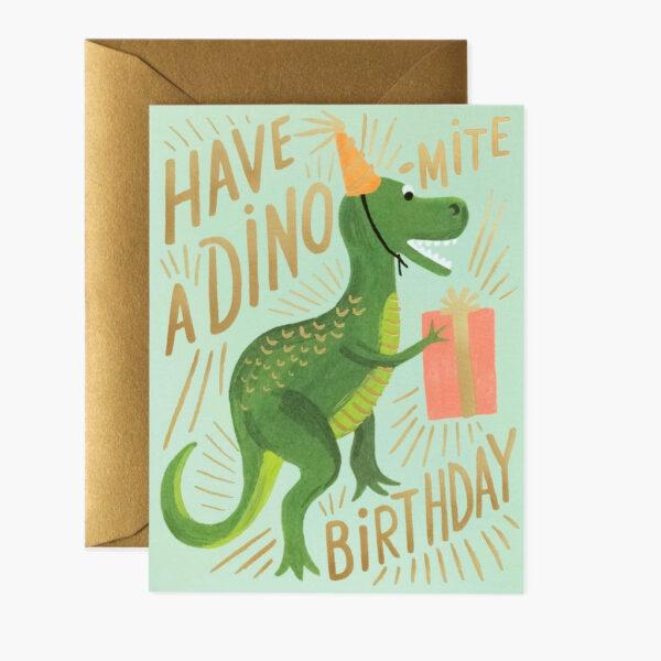 Greeting Cards - Birthday - Dino-Mite