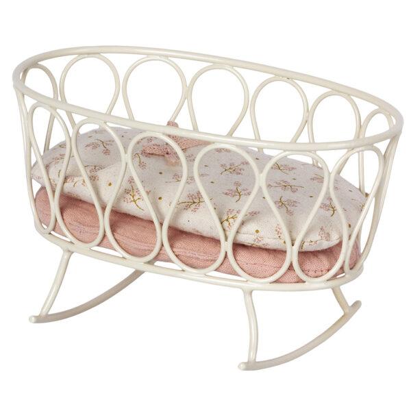 MAILEG Cradle w. sleeping bag, MY - Rose
